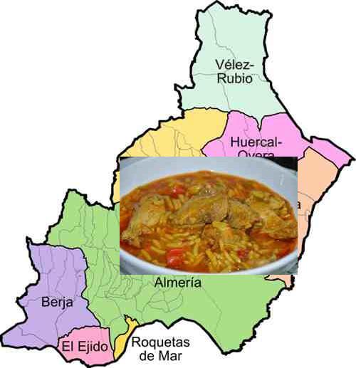 recetas tipicas provincia almeria