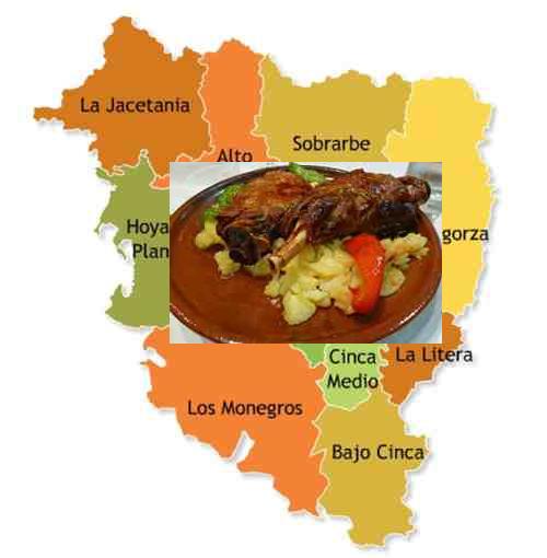 recetas tipicas provincia huesca