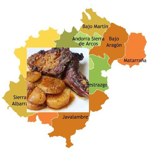 recetas tradicionales provincia de teruel