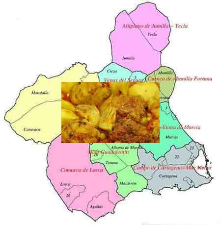 recetas tradicionales region de murcia