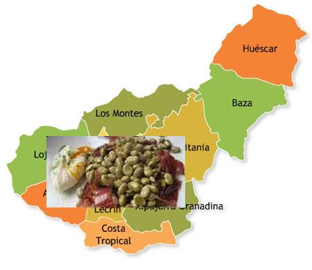 recetas tradicionales provincia de granada