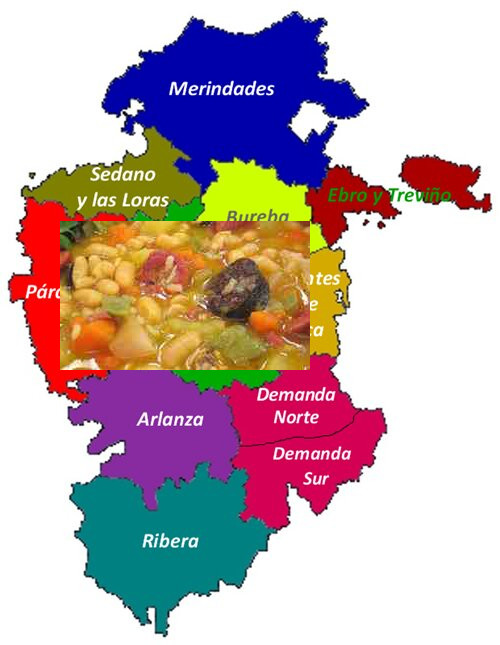 recetas tradicionales provincia de burgos