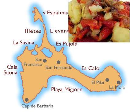 recetas tradicionales isla de  formentera