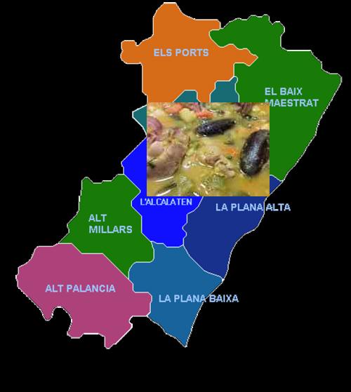 recetas tradicionales provincia de castellon