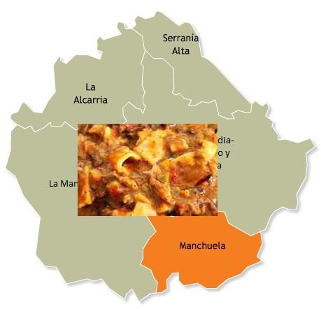 recetas tradicionales provincia cuenca