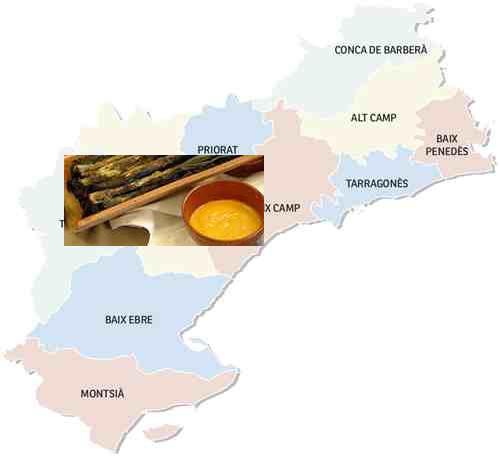 recetas tradicionales provincia tarragona