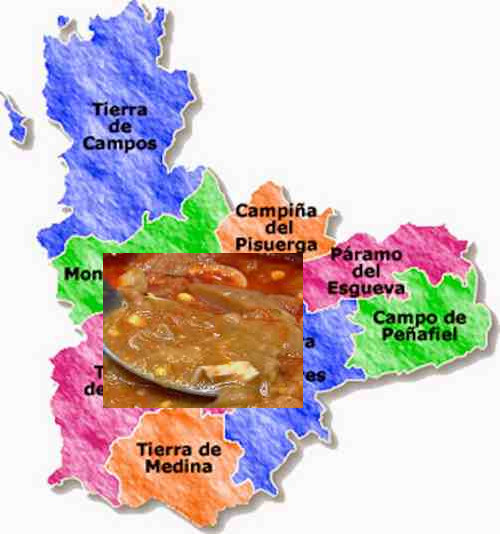 recetas tradicionales provincia valladolid