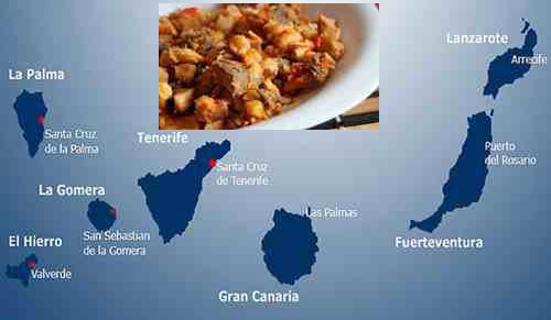 recetas tradicionales islas canarias